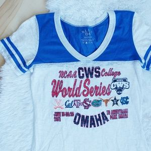 NCAA College World Series Fitted Tee